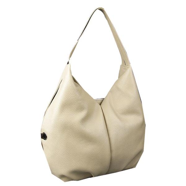 сумка хобо белая