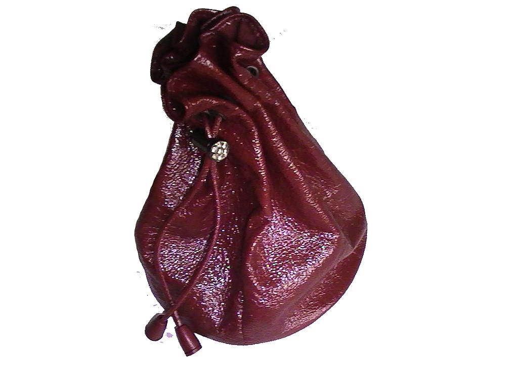 вечерняя сумка мешочек
